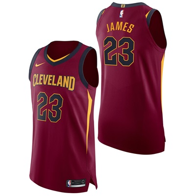 """""""Cleveland Cavaliers Nike Icon Authentic Jersey – Lebron James – Mens"""""""