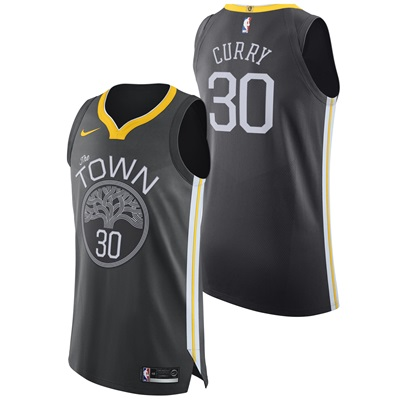 """Golden State Warriors Nike Statement Authentic Jersey – Stephen Curry """