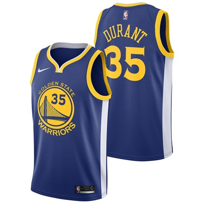 """Golden State Warriors Nike Icon Swingman Jersey – Kevin Durant – Mens"""