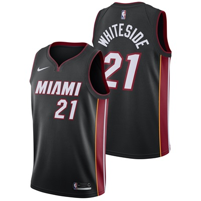 """Miami Heat Nike Icon Swingman Jersey – Hassan Whiteside – Mens"""