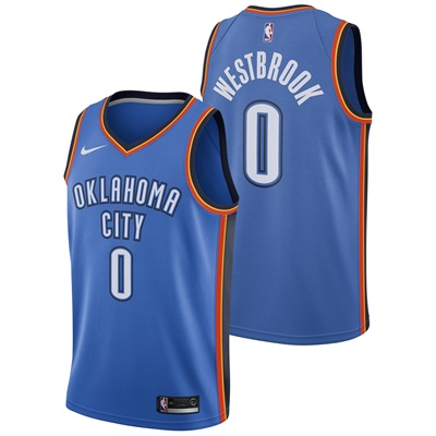 """Oklahoma City Thunder Nike Icon Swingman Jersey – Russell Westbrook – """