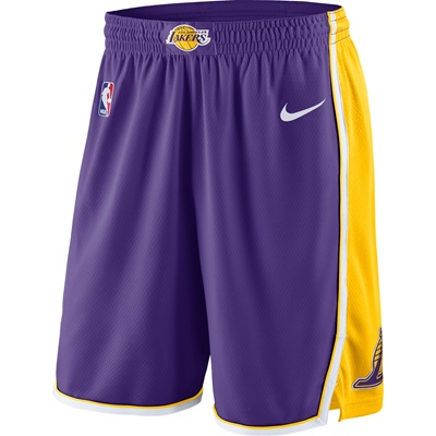 """Los Angeles Lakers Nike Statement Swingman Shorts – Mens"""