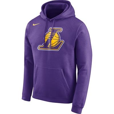 """""""Los Angeles Lakers Nike Logo Fleece Hoodie – Field Purple – Mens"""""""