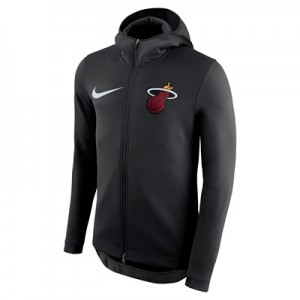 """Miami Heat Nike Therma Flex Showtime Jacket – Black – Youth"""