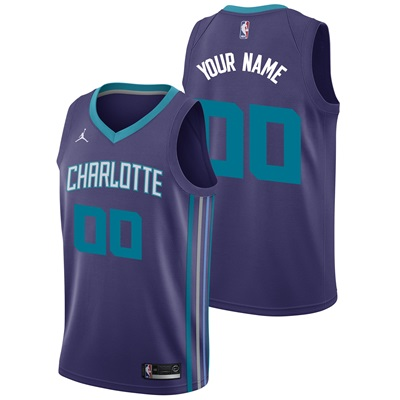 """Charlotte Hornets Nike Statement Swingman Jersey – Custom – Mens"""