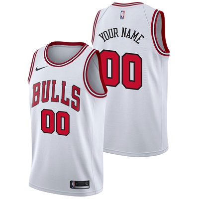 """Chicago Bulls Nike Association Swingman Jersey – Custom – Mens"""