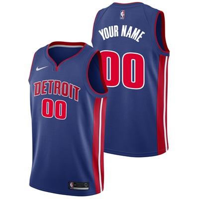 """""""Detroit Pistons Nike Icon Swingman Jersey – Custom – Mens"""""""