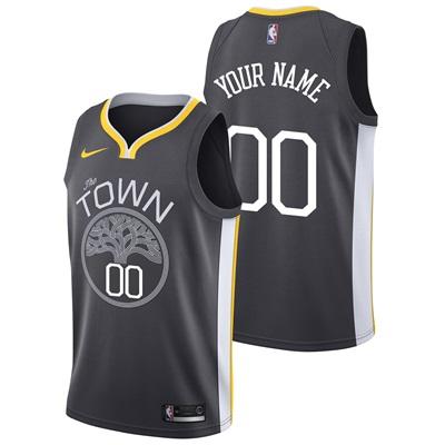 """Golden State Warriors Nike Statement Swingman Jersey – Custom – Mens"""