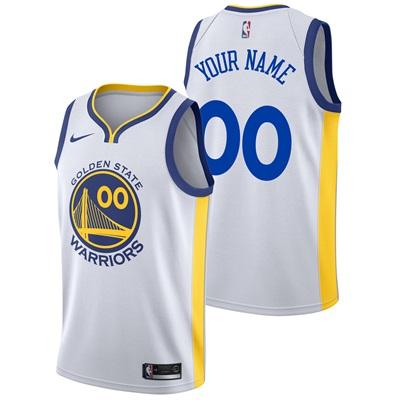 """Golden State Warriors Nike Association Swingman Jersey – Custom – Mens"""