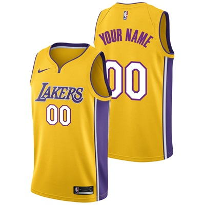 """Los Angeles Lakers Nike Icon Swingman Jersey – Custom – Mens"""