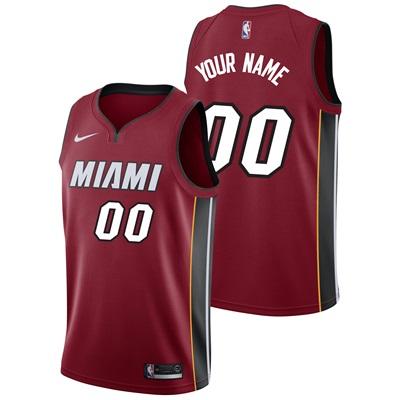 """Miami Heat Nike Statement Swingman Jersey – Custom – Mens"""