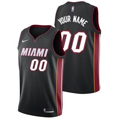 """Miami Heat Nike Icon Swingman Jersey – Custom – Mens"""