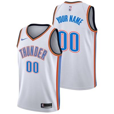 """""""Oklahoma City Thunder Nike Association Swingman Jersey – Custom – Mens"""""""