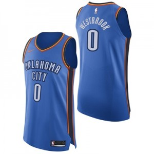 """""""Oklahoma City Thunder Nike Icon Authentic Jersey – Russell Westbrook -"""""""