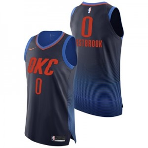 """""""Oklahoma City Thunder Nike Statement Authentic Jersey – Russell Westbr"""""""