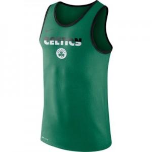 """Boston Celtics Nike Logo Tank Top – Clover – Mens"""
