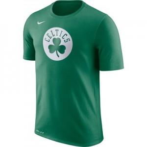 """Boston Celtics Nike Logo T-Shirt – Clover – Mens"""