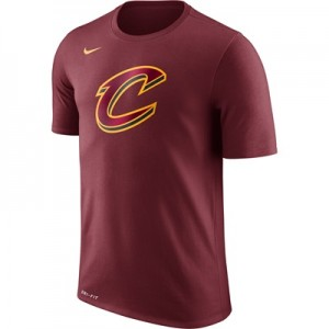 """""""Cleveland Cavaliers Nike Logo T-Shirt – Team Red – Mens"""""""