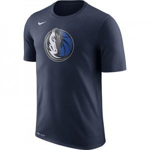 """Dallas Mavericks Nike Logo T-Shirt – College Navy – Mens"""