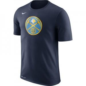 """Denver Nuggets Nike Logo T-Shirt – College Navy – Mens"""