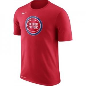 """Detroit Pistons Nike Logo T-Shirt – Field Purple – Mens"""