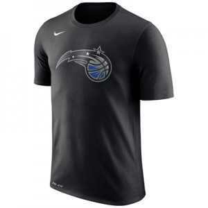 """Orlando Magic Nike Logo T-Shirt – Black – Mens"""
