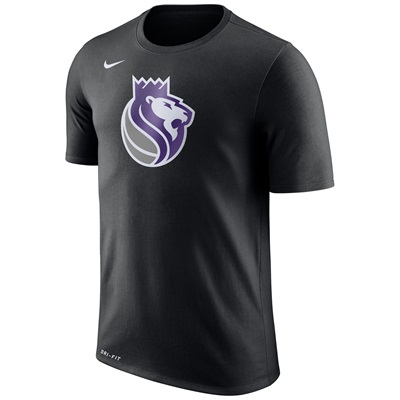"""Sacramento Kings Nike Logo T-Shirt – Black – Mens"""