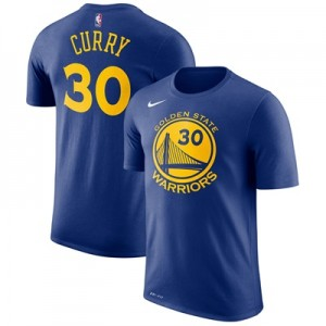 """Golden State Warriors Nike Stephen Curry Name & Number T-Shirt – Rush """