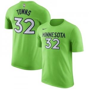"""Minnesota Timberwolves Nike Karl Anthony-Towns Name & Number T-Shirt -"""