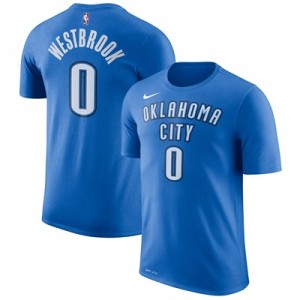 """""""Oklahoma City Thunder Nike Russell Westbrook Name & Number T-Shirt – S"""""""
