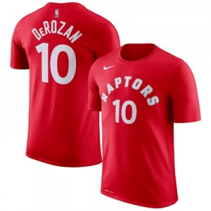 """Toronto Raptors Nike DeMar DeRozan Name & Number T-Shirt – University """