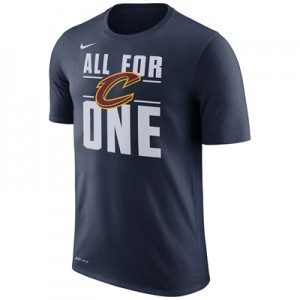 """Cleveland Cavaliers Nike Verbiage T-Shirt – College Navy – Mens"""
