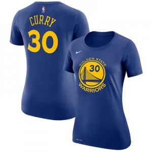 """""""Golden State Warriors Nike Stephen Curry Name & Number T-Shirt – Rush """""""
