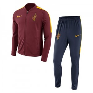 """Cleveland Cavaliers Nike Dry Tracksuit -Team Red- Mens"""