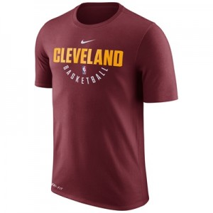 """Cleveland Cavaliers Nike Practise Short Sleeve T-Shirt – Team Red – Me"""
