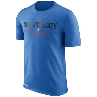 """""""Oklahoma City Thunder Nike Practise Short Sleeve T-Shirt – Signal Blue"""""""