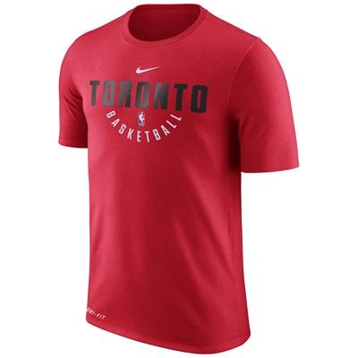 """Toronto Raptors Nike Practise Short Sleeve T-Shirt – University Red – """