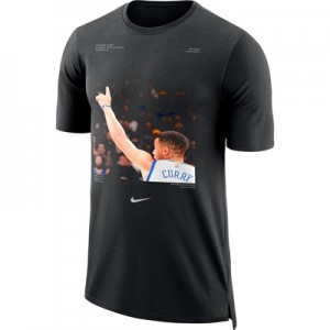 """""""Golden State Warriors Nike Stephen Curry Player Pack T-Shirt – Black -"""""""