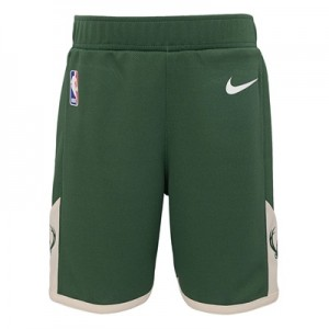 """Milwaukee Bucks Nike Icon Replica Short – Kids"""