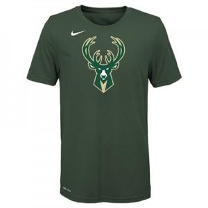 """Milwaukee Bucks Nike Logo T-Shirt –  – Youth"""