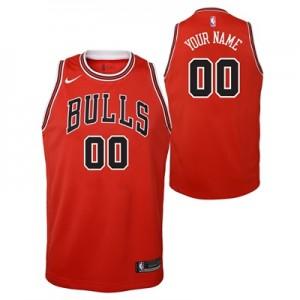 """Chicago Bulls Nike Icon Swingman Jersey – Custom – Youth"""