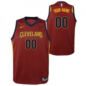"""Cleveland Cavaliers Nike Icon Swingman Jersey – Custom – Youth"""