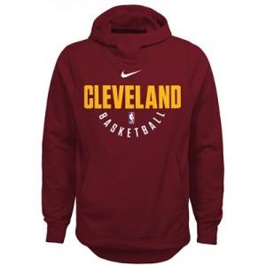 """""""Cleveland Cavaliers Nike Elite Practise Fleece Hoodie – Team Red – You"""""""