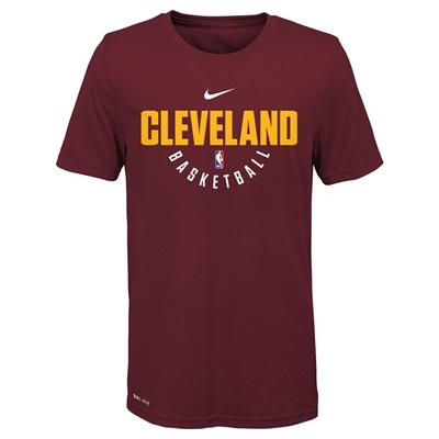 """Cleveland Cavaliers Nike Elite Practise Short Sleeve Top – Team Red – """