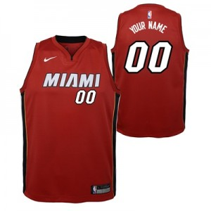 """Miami Heat Nike Statement Swingman Jersey – Custom – Youth"""