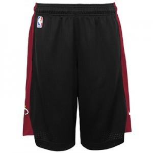 """""""Miami Heat Nike Practise Short – Black/Tough Red – Youth"""""""