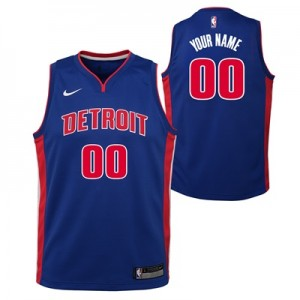 """""""Detroit Pistons Nike Icon Swingman Jersey – Custom – Youth"""""""