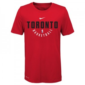 """Toronto Raptors Nike Elite Practise Short Sleeve Top – University Red """