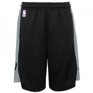 """""""San Antonio Spurs Nike Practise Short – Black/Flat Silver – Youth"""""""