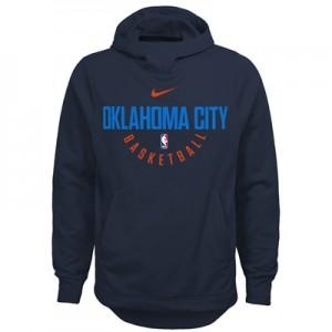 """Oklahoma City Thunder Nike Elite Practise Fleece Hoodie – Signal Blue """